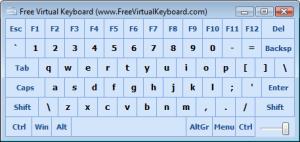 java Removing virtual keypad.